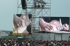 Ben Harper on stage...