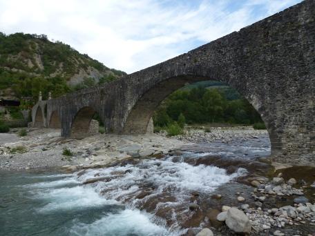 Il Trebbia e Ponte Gobbo