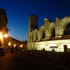 Arles la nuit...