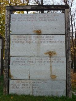I versi del Poeta Attilio Bertolucci...