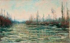 Il disgelo (1882) C. Monet