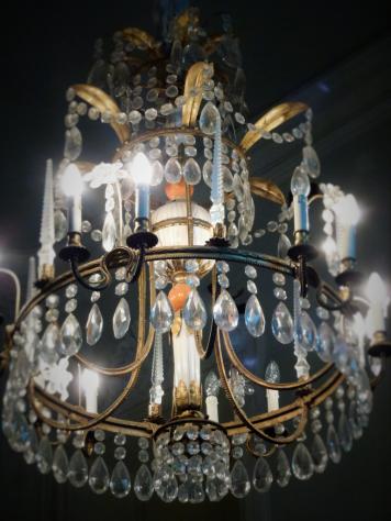 lampadario villa magnani rocca
