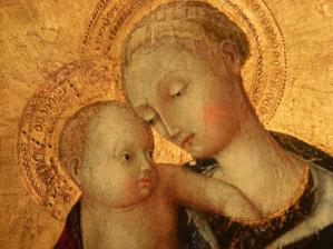 Madonna del 400 particolare
